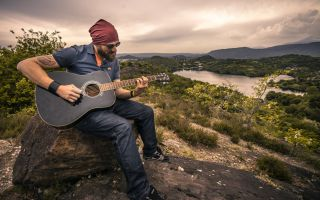 landscape-nature-man-person-guitar
